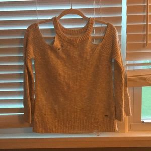 Hollister Sweaters - Distressed sweater
